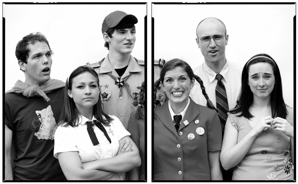 Spelling Bee Promo Shot BW